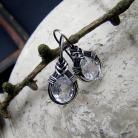 Kolczyki srebro,delikatne,kobiece,romantyczne,eleganckie