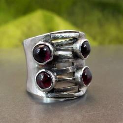 szeroki seksowny pierścionek - Pierścionki - Biżuteria