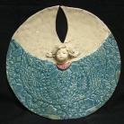 Ceramika i szkło aniołek,ceramika,prezent