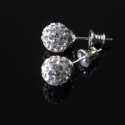 eleganckie sztyfty swarovski - Kolczyki - Biżuteria