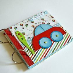 folder na płyty CD dla chłopca,samochód - Dla dzieci - Akcesoria