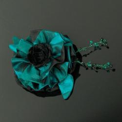 kwiatek,ozdoba,wyrazista,modna,hit,inna - Broszki - Biżuteria